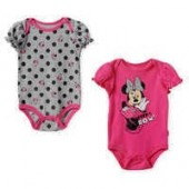 Minnie Mouse Bodysuit Set for Baby - Pink