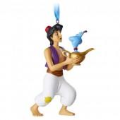 Aladdin and Genie Figural Ornament