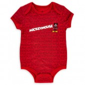 Mickey Mouse Bodysuit for Baby - Red