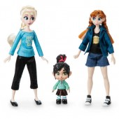 Vanellope with Anna and Elsa Mini Doll Set - Ralph Breaks the Internet