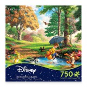 Winnie the Pooh Jigsaw Puzzle by Thomas Kinkade