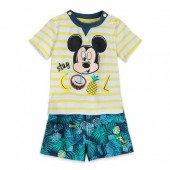 Mickey Mouse ''Stay Cool'' Shirt and Shorts Set for Baby