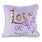 Minnie Mouse Purple Pillow