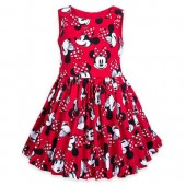 Minnie Mouse Sleeveless Dress for Girls