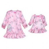 Disney Animators Collection Aurora Sleep Gown Set for Girls and Doll