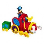 Mickey Mouse Push and Go Mouska Train