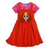 Lady and the Tramp Dress Set for Girls