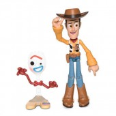 Woody Action Figure - Toy Story 4 - PIXAR Toybox