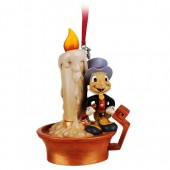 Jiminy Cricket Light-Up Sketchbook Ornament