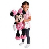 Minnie Mouse Plush - Pink - Large