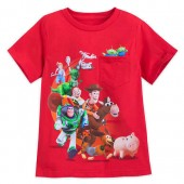 Toy Story 4 Cast T-Shirt for Boys