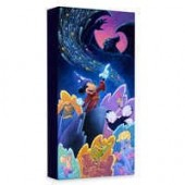 Sorcerer Mickey Mouse Splashes of Fantasia Giclee on Canvas by Tim Rogerson