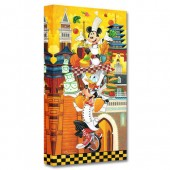 Mickey Mouse and Friends ''A World of Flavor'' Giclee on Canvas by Tim Rogerson