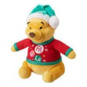 Winnie the Pooh Holiday Plush - Medium
