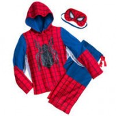 Spider-Man Deluxe Costume Sleep Set - Boys