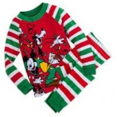 Mickey Mouse and Friends Holiday PJ Set for Boys