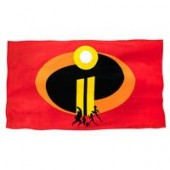 Incredibles 2 Beach Towel