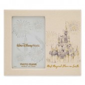 Walt Disney World Faux Leather Photo Frame - 4'' x 6''