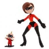 Mrs. Incredible and Jack-Jack Action Figure Set - PIXAR Toybox