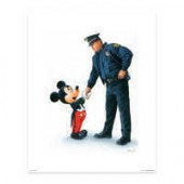 Mickey Mouse Mickey and the Policeman by William Silvers