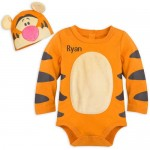 Tigger Costume Bodysuit Set for Baby - Personalizable
