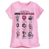 Disney Princess Novelty T-Shirt for Girls