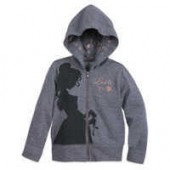 Belle Zip-Up Hooded Sweatshirt for Girls - Beauty and the Beast