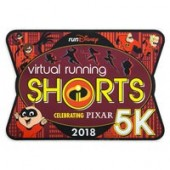 Incredibles 2 runDisney Virtual Running Shorts 5K 2018 Magnet - Limited Release