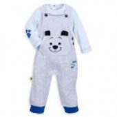 Lucky Dungaree Set for Baby - 101 Dalmatians