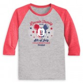 Youths' Mickey Mouse 4th of July Long Sleeve Raglan T-Shirt - Disneyland - Customized