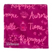 Disney Princess Fleece Throw - Personalized