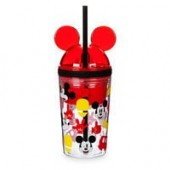 Mickey Mouse Tumbler with Snack Cup and Straw