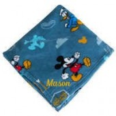Mickey Mouse, Donald Duck, and Pluto Fleece Throw - Personalizable