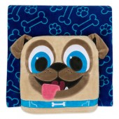 Rolly Convertible Fleece Throw - Puppy Dog Pals - Personalized