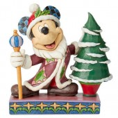 Mickey Mouse Father Christmas Figure by Jim Shore