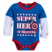 Captain America Bodysuit for Baby | Marvel