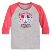 Youths' Mickey Mouse 4th of July Long Sleeve Raglan T-Shirt - Walt Disney World - Customized