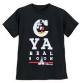 Mickey Mouse Eye Chart T-Shirt for Kids - Walt Disney World