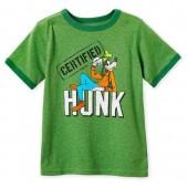Goofy Ringer T-Shirt for Boys