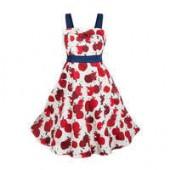 Snow White Apple Dress for Girls