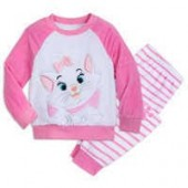 Marie Fuzzy Pajama Set for Kids - The Aristocats