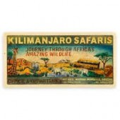 Kilimanjaro Safaris Wood Puzzle - Disneys Animal Kingdom