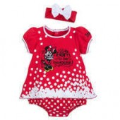 Minnie Mouse Bodysuit Set for Baby - Disneyland