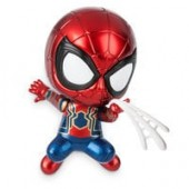 Iron Spider Cosbaby Bobble-Head Figure by Hot Toys - Marvels Avengers: Infinity War