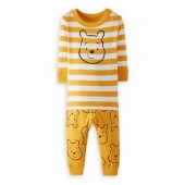 Winnie the Pooh Organic Long John Pajama Set for Baby by Hanna Andersson