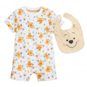 Winnie the Pooh Romper and Bib Set for Baby