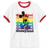 Rainbow Disney Collection Mickey Mouse Ringer T-Shirt for Kids - Disneyland