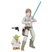 Luke Skywalker and Yoda Action Figure - Star Wars: Forces of Destiny - Hasbro