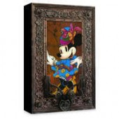 Minnie Mouse Steam Punk Minnie Giclee on Canvas by Krystiano DaCosta