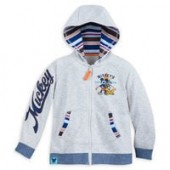 Mickey Mouse Surf Zip Hoodie for Boys